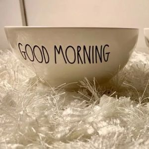 "Rae Dunn ""GOOD MORNING"" Bowl"